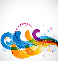 Colorful stylish eps10 floral vector