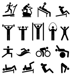 Exercise and fitness vector