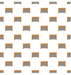 Hockey gate pattern seamless vector