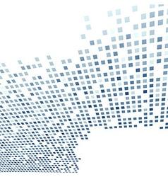 Modern tile background template in dark blue vector image