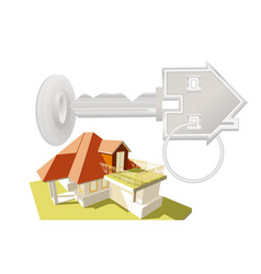 New house concept vector