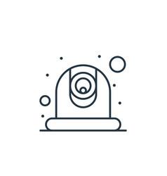 Webcam icon webcam editable stroke webcam linear vector
