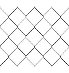 Seamless texture metal mesh fence vector