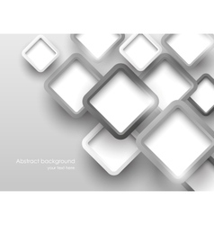 Background with gray squares vector