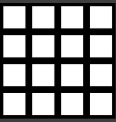 Black and white square checkered seamless vector