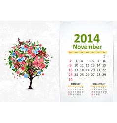 Calendar 2014 3 11 vector
