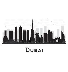 Dubai silhouette vector