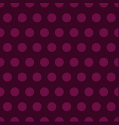Purple polka dots background vector