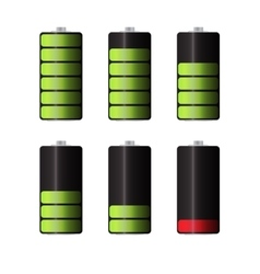 Rechargeable Batteries for Electronic Devices vector
