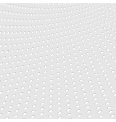 Grey paper dotted abstract background vector image vector image