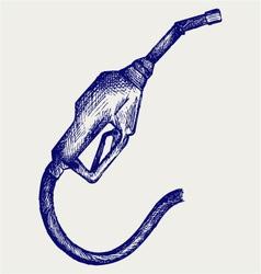 Gasoline fuel vector image vector image