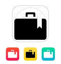 Case bookmark icon vector image vector image