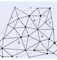 Network double seamless pattern vector image