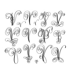 Cursive V Vector Images 33 Check out our cursive v initial selection for the very best in unique or custom, handmade pieces from our shops. vectorstock