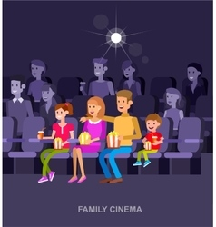 Cinema movie poster template vector