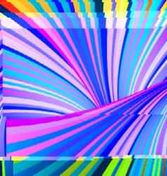 Glitch art vector