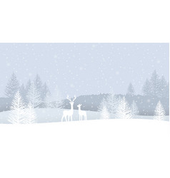 Happy christmas greeting card vector