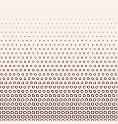 Monochrome halftone gradient with gears vector