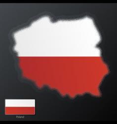 Poland map vector image