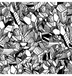 Seamless pattern with crystals vector image
