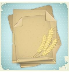 grunge paper vintage vector image