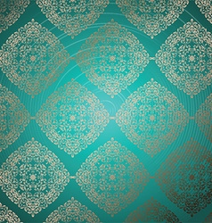 luxury pattern 2907 vector image vector image