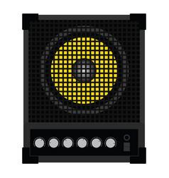 Audio monitor icon vector