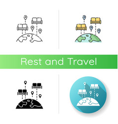 couchsurfing icon vector image
