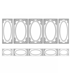 Decorative Ornamented frames vector