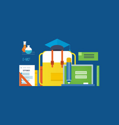 education research the search for knowledge vector image