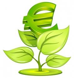 euro plant vector image