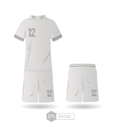 France team uniform 01 vector image