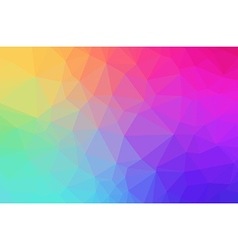 Low Polygon Background vector image
