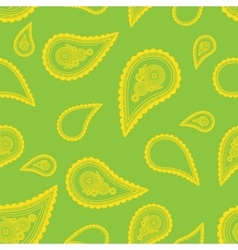 Paisley ornament Seamless pattern vector
