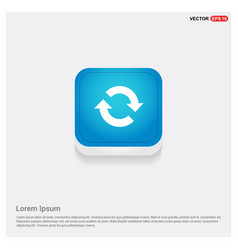 reload icon vector image