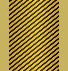 yellow and black stripes on black perforated vector image