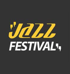 Jazz musical art poster template for vector