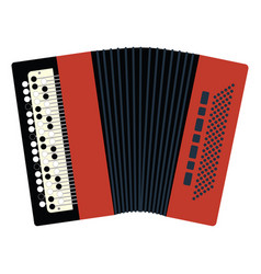 accordion icon vector image