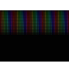 Colored halftone background vector