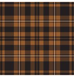 Seamless tartan - brown vector