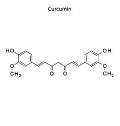 Skeletal formula chemical element vector