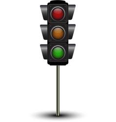 Traffic lamps traffic lights vector
