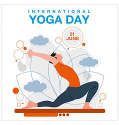 Yoga day 12062114-1 vector