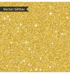 Golden glitter pattern texture with star Abstract vector image