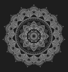 Mandala indian antistress medallion abstract vector