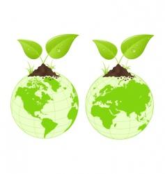 natural world vector image vector image