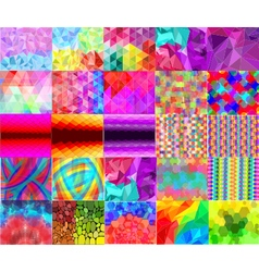 Abstract Digital Background Collection vector