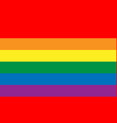 lesbian gay bisexual and transgender flag vector image
