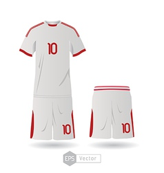 mexico team uniform 01 vector image