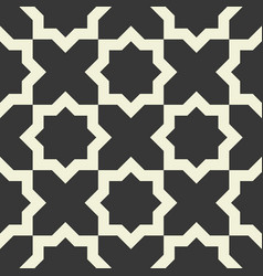 Seamless pattern moroccan vector